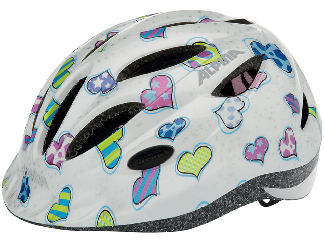 Alpina Gamma 2.0 Kids Helmet hearts